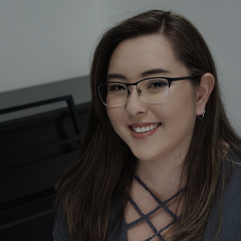 Lauren Chiba is our Piano Instructor, manages communications for The Warehouse and has been on staff since March 2013.  Lauren started her music education in middle school and plays oboe, baritone, flute & piano. She attended The University of Houston and studied Music Education as well as English Literature.